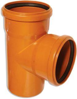 Тройник канализационный наружный 90° Armakan
