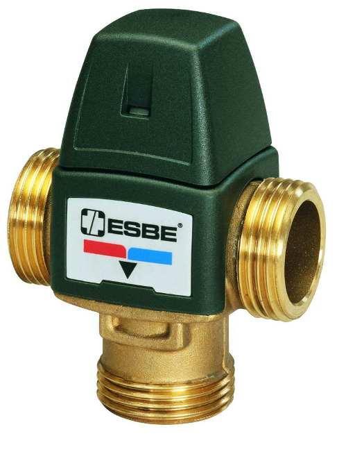 ESBE VTA 322 (temp 20-43°С) клапан термостатический трехходовой 1