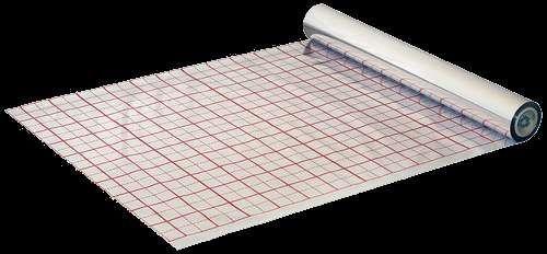 Фольга для теплого пола в рулоне (50 м2)