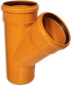Тройник канализационный наружный 45° Armakan