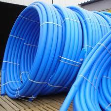 ПНД полиэтиленовая труба питьевая (синяя)