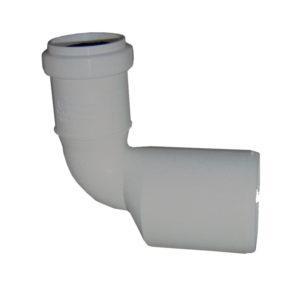 Редукция угловая переходная канализационная ПП Armakan (серая)