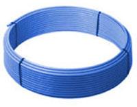ПНД полиэтиленовая труба питьевая (голубая)