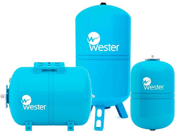 баки для водоснабжения wester