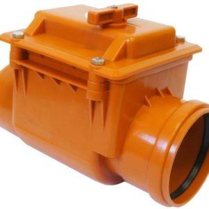 Обратный клапан канализационный наружный ø110 Ostendorf